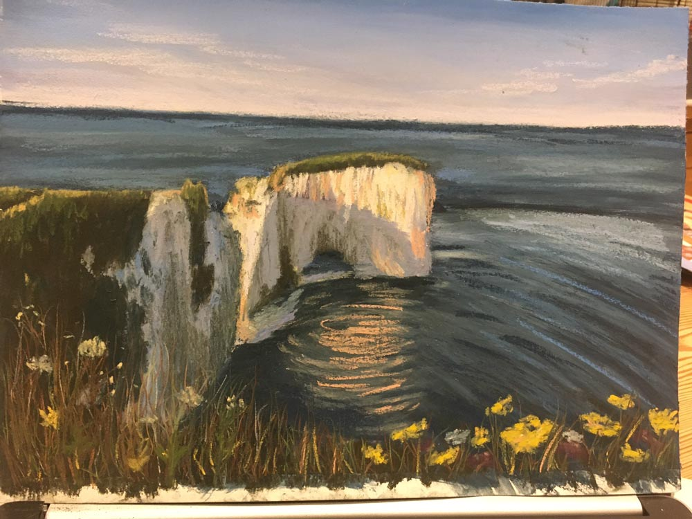 An Artist's Experience: 5 Day Pastel Challenge with Nina Squire, by Sara Lawrence 9
