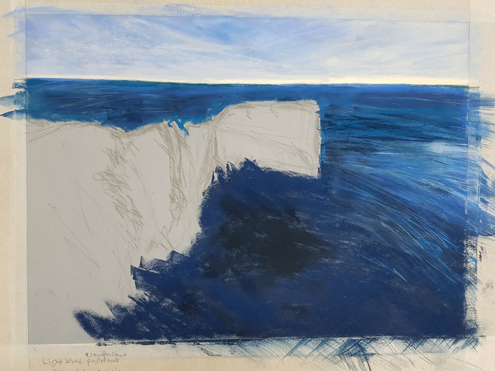 An Artist's Experience: 5 Day Pastel Challenge with Nina Squire, by Susan Brooke 2