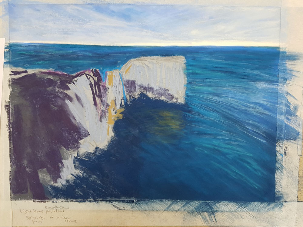 An Artist's Experience: 5 Day Pastel Challenge with Nina Squire, by Susan Brooke 3