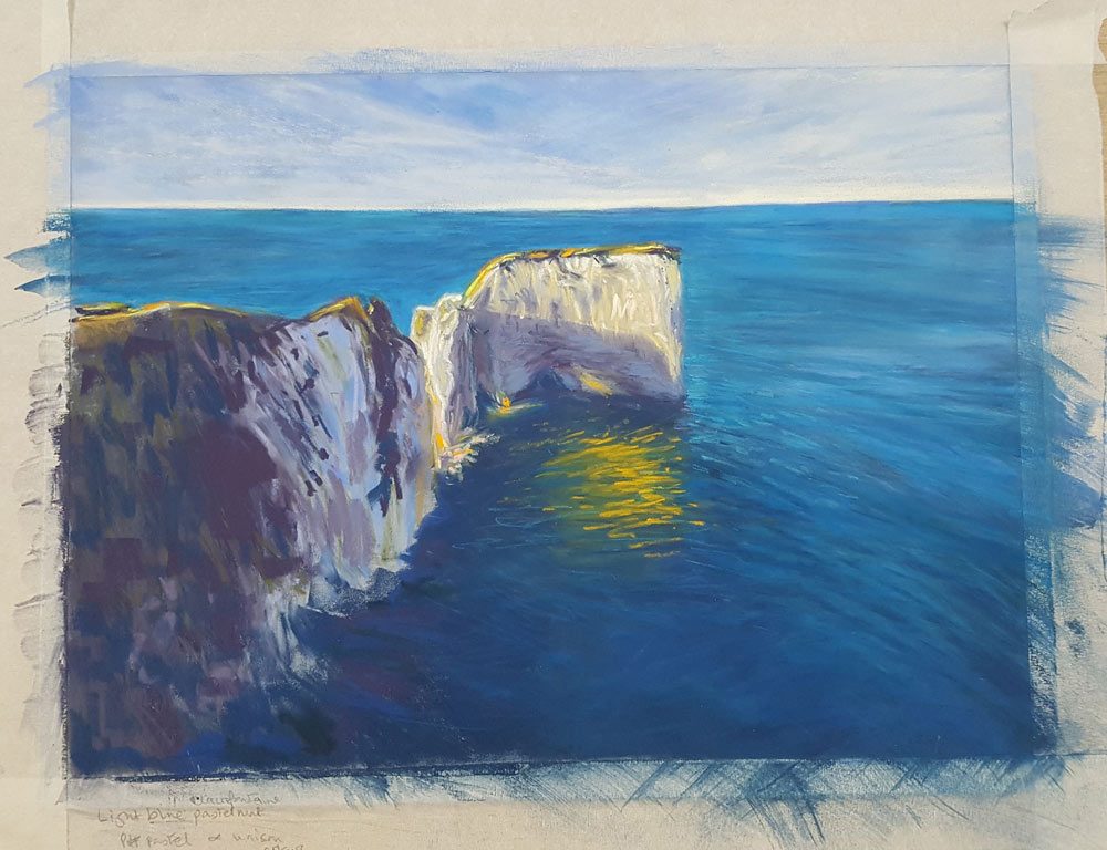 An Artist's Experience: 5 Day Pastel Challenge with Nina Squire, by Susan Brooke 4