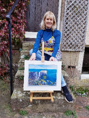 An Artist's Experience: 5 Day Pastel Challenge with Nina Squire, by Susan Brooke 6