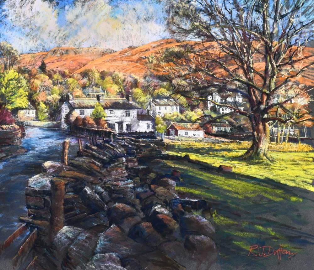 Landscape expression with Unison Colour pastels 3
