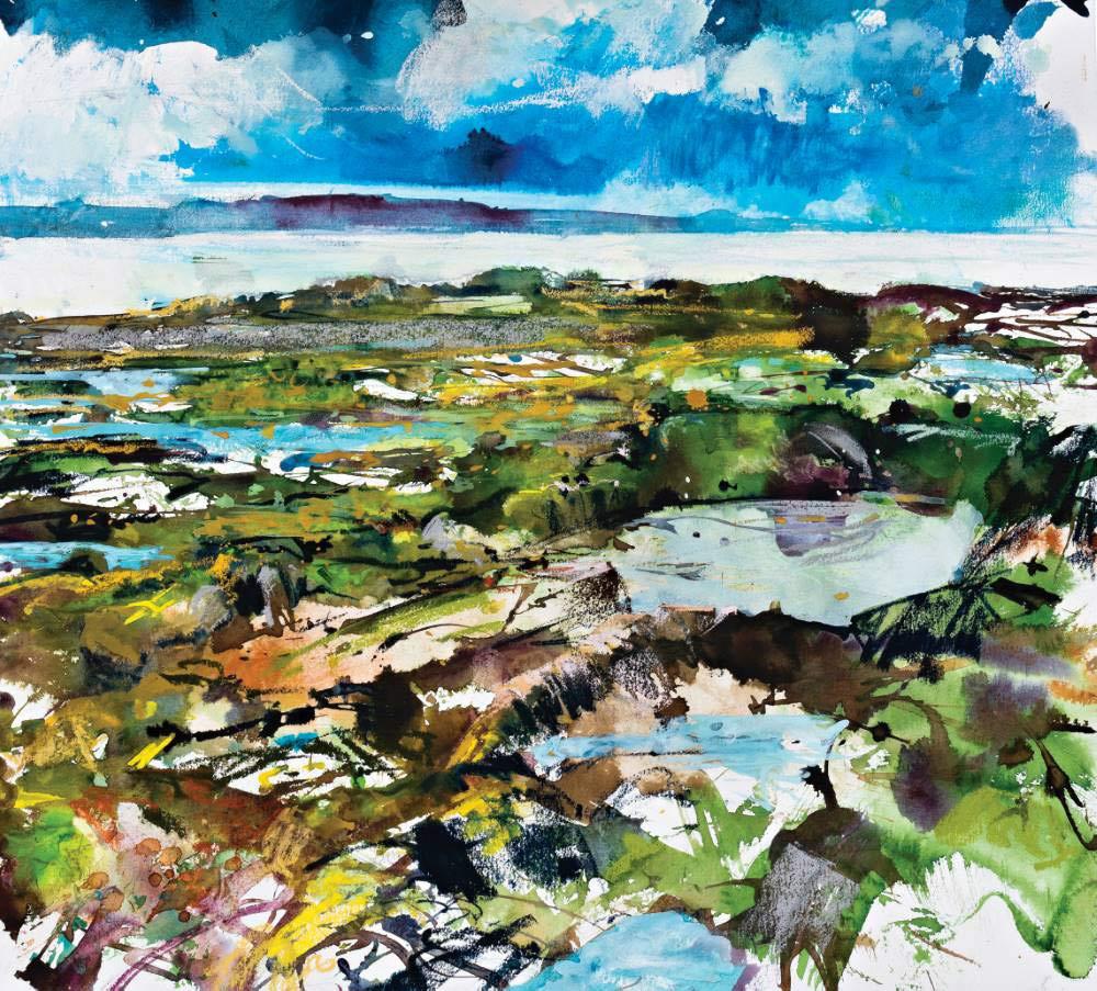 Landscape expression with Unison Colour pastels 5