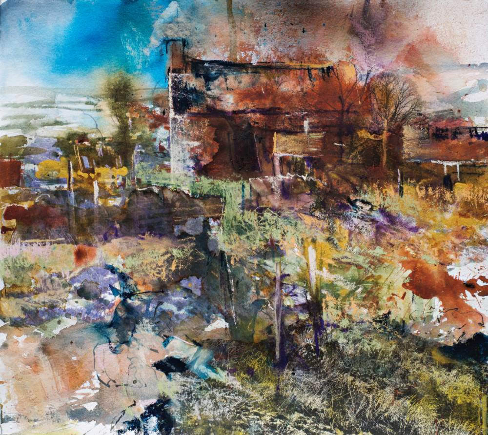 Landscape expression with Unison Colour pastels 21