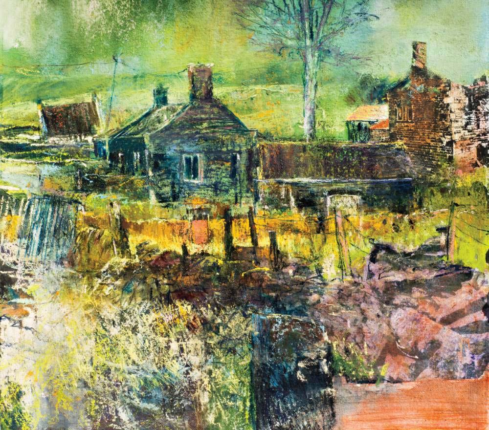 Landscape expression with Unison Colour pastels 22