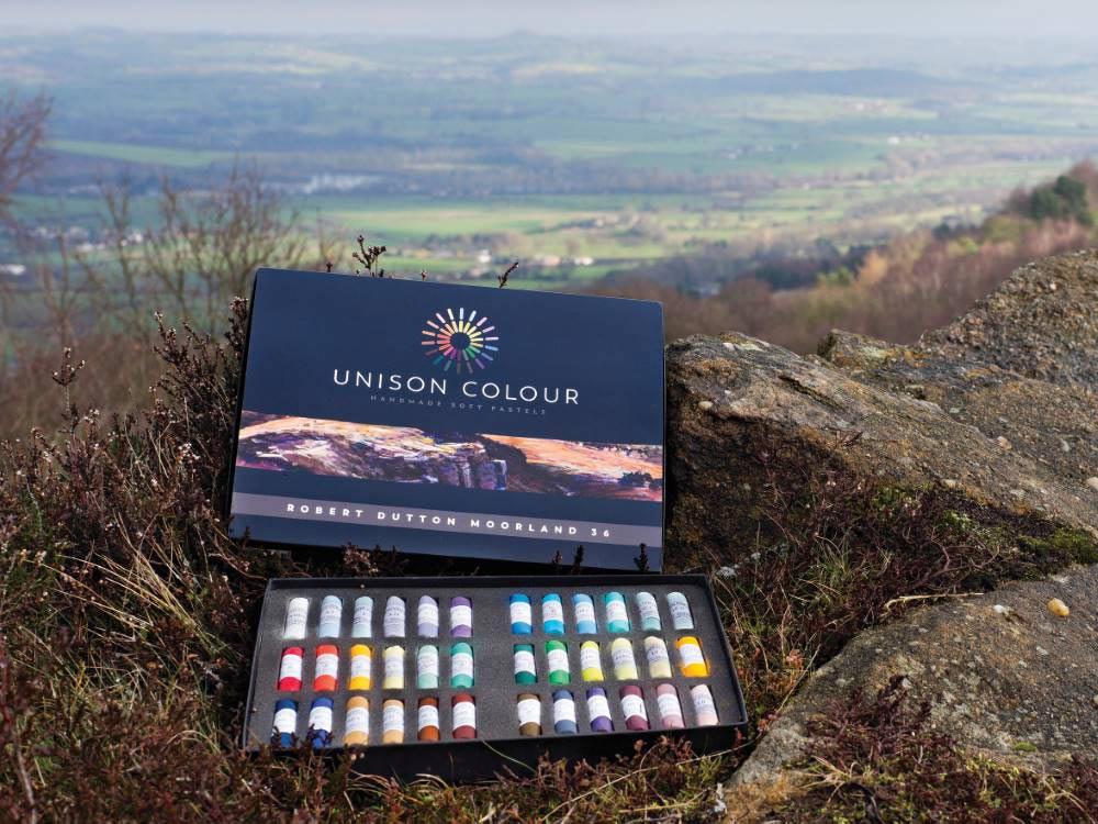 Landscape expression with Unison Colour pastels 19