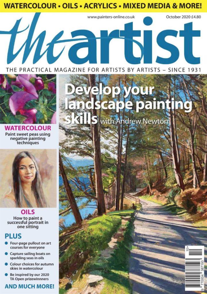 Landscape expression with Unison Colour pastels 16