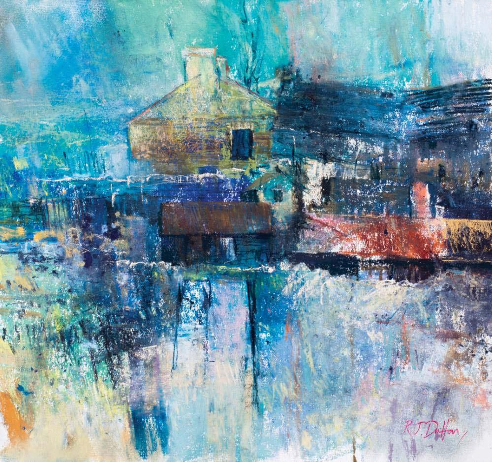 Landscape expression with Unison Colour pastels 25