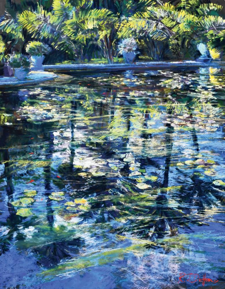 Landscape expression with Unison Colour pastels 2