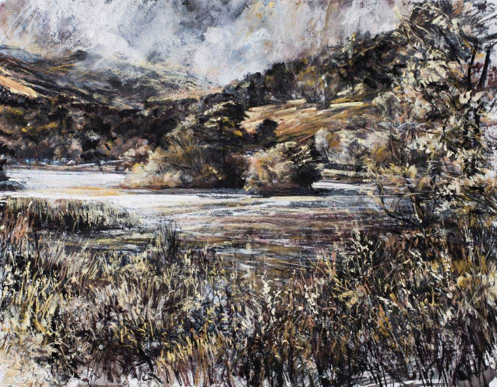 Landscape expression with Unison Colour pastels 13