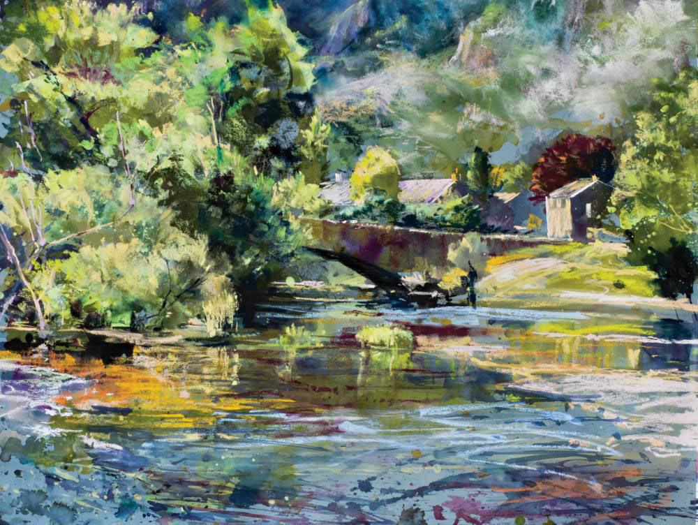 Landscape expression with Unison Colour pastels 6