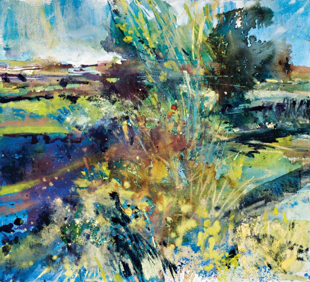 Landscape expression with Unison Colour pastels 15