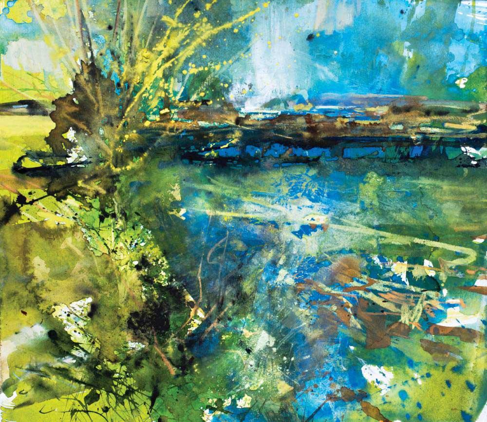 Landscape expression with Unison Colour pastels 14