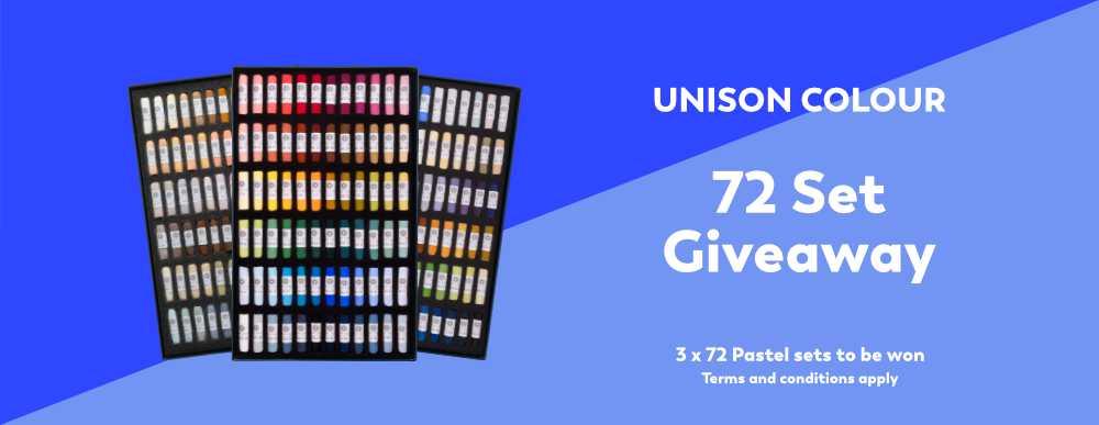 Win a 72 Set of Unison Colour Pastels! 1