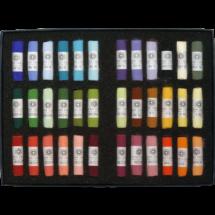 Open box of Gail Sibley 36 Soft Pastel set.